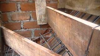 Encofrado y armado de escalera concreto 9 de febre