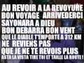 Au revoir a la revoyure bon voyage arrivederchi sayonara à dieu bon débarras bon vent mp3