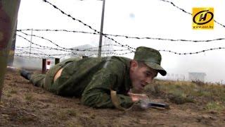 В Старых Дорогах проходит отбор на Международные армейские игры