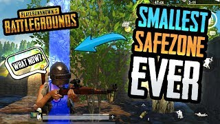 THE SMALLEST SAFEZONE IN PUBG HISTORY!