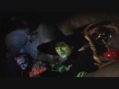 "Maragaret Hamilton in ""The WIzard of Oz""-1939-(2/2)"