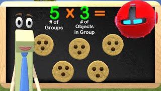 Multiplication 3rd Grade - Learn Multiplication Educational Math Videos