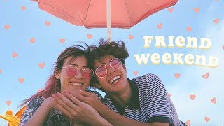Friend Weekend // Feat. CatCreature (Vlog.17)