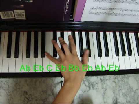Piano Tutorial Kiss The Rain Left Hand Part 1 Chords Chordify