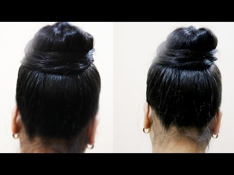 How to Make Simple Juda    Messy Bun in 2...