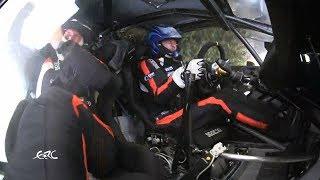 Rally Rzeszow 2017 - Lukyanuk Crash