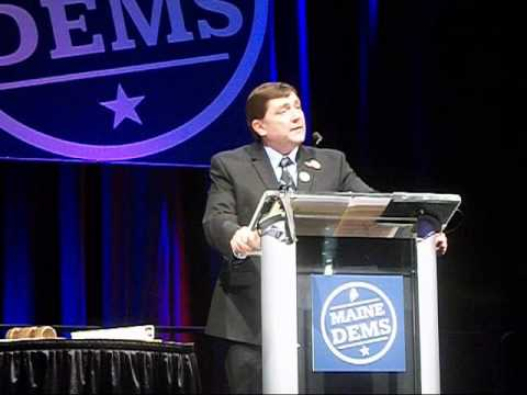 Troy Jackson for Congress Addresses 2014 Maine Democratic Convention