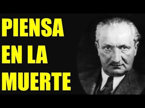 HEIDEGGER - SER Y TIEMPO - FILOSOFÍA EXISTENCIALISTA