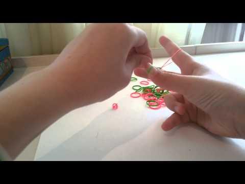 Как плести из резинок браслеты на пальцах видео уроки для начинающих