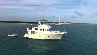 Nordhavn 43' Trawler Three@Sea at Anchor
