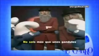 Rajoy y los pitufos