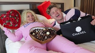 Download SAYING 'YES' TO MY GIRLFRIEND FOR 24 HOURS CHALLENGE (I BOUGHT HER CHANEL!) Mp3 and Videos