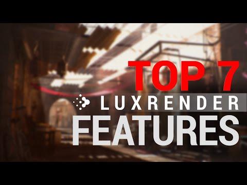 Blender Rendering - Top 7 LuxRender Features