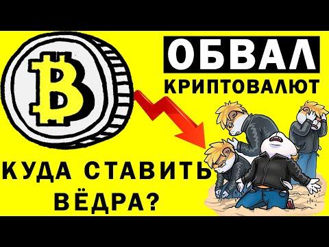 💥ОБВАЛ КРИПТОВАЛЮТ! Когда покупать? Прогноз криптовалют: биткоин Bitcoin, эфир Ethereum, Litecoin