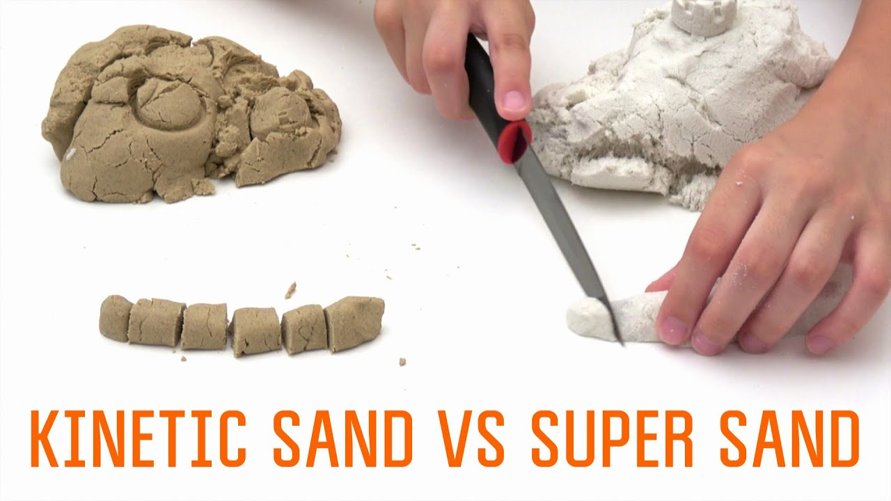 how to make kinetic sand super sand vs homemade kinetic. Black Bedroom Furniture Sets. Home Design Ideas