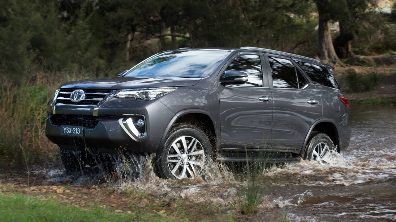 2019 Toyota Fortuner Review  Youtube