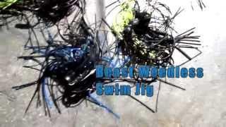 d custom baits beast weedless swim jig