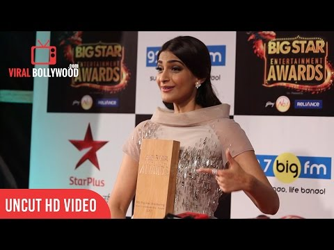 Sonam Kapoor Full Interview | Big Star Entertainment Awards 2015