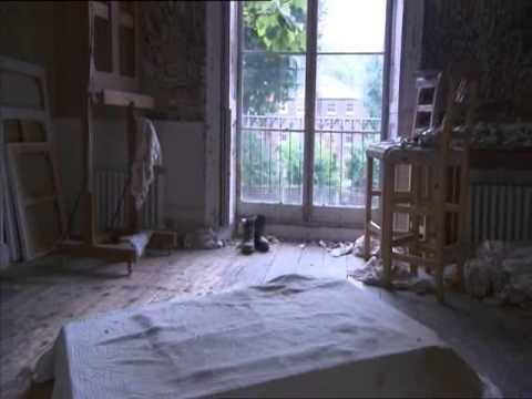 Im Atelier von Lucian Freud mit David Dawson