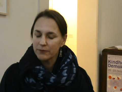 Annenviertel Präsentation - Margarethe Makovec im Interview