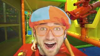 Blippi Toys! Learn Fruits with Blippi Educational Indoor Playground Videos for Kids
