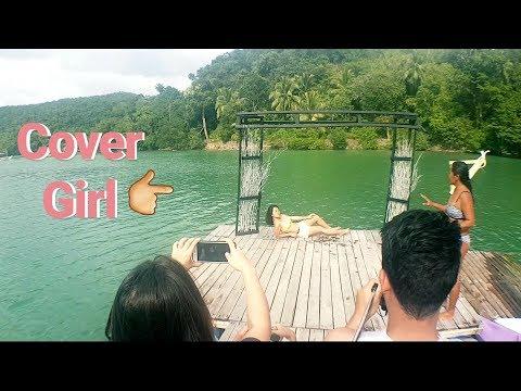 Magazine Cover Shoot at Perth Paradise Resort, Sipalay
