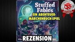 Stuffed Fables: An Adventure Book Game  - Rezension auf deutsch (Plaid Hat Games 2018)