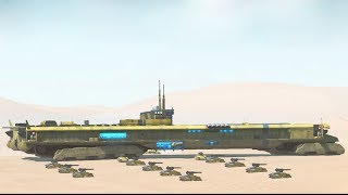 BIG DESERT AIRCRAFT CARRIER BATTLE | Homeworld: Deserts of Kharak Gameplay