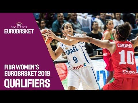 Israel v Portugal - Full Game - FIBA Women's EuroBasket 2019 Qualifiers