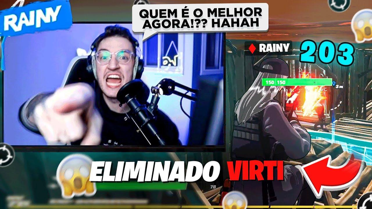 RAINY SE EXALTA AO TIRAR X1 COM VIRTI - ACABOU A AMIZADE? ft. @Virti