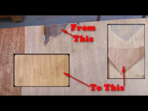 How To Repair Veneer Furniture Using A Wood Veneer Patch