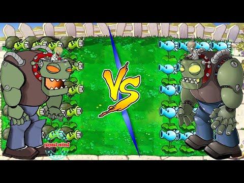 Plants Vs Zombies Battlez Plant FIRE vs ICE vs Dr. Zomboss