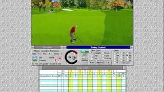 Microsoft Golf 2.0 (Access Software) (Windows 3.x) [1995]