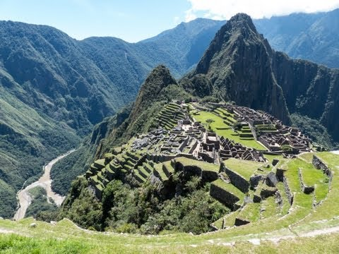 The 4 day Inca Trail trek to Machu Picchu, Peru
