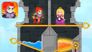 Hero Rescue - AĮl Levels Gameplay Android, iOS