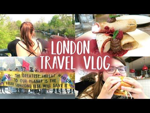 Une semaine à Londres — Vegan Food, Rebellion & Shingai