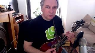 The Fisherman's Island (reel) on mandolin