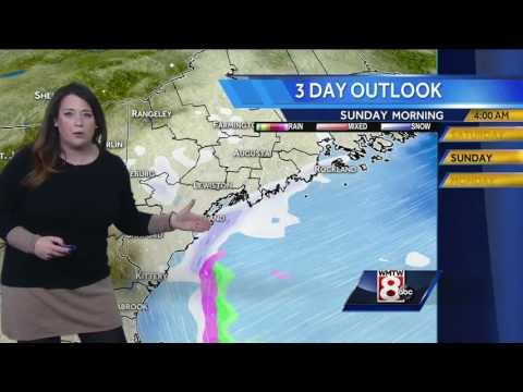 Sarah's Saturday Forecast