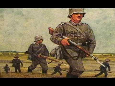 Infanterie Lied mit Musik