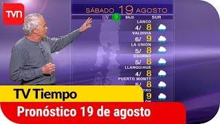 Pronóstico para este viernes 19 de agosto | TV Tiempo