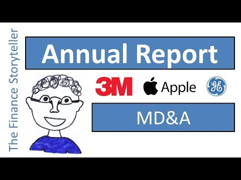 Annual report MD&A