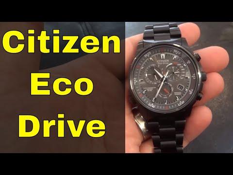 Citizen Eco Drive Watch Review-Men's Perpetual Chrono