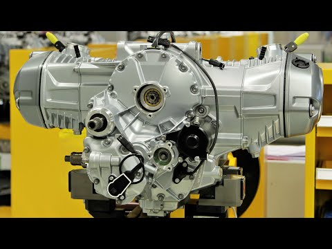 BMW R 1200 GS Boxer Engine Production