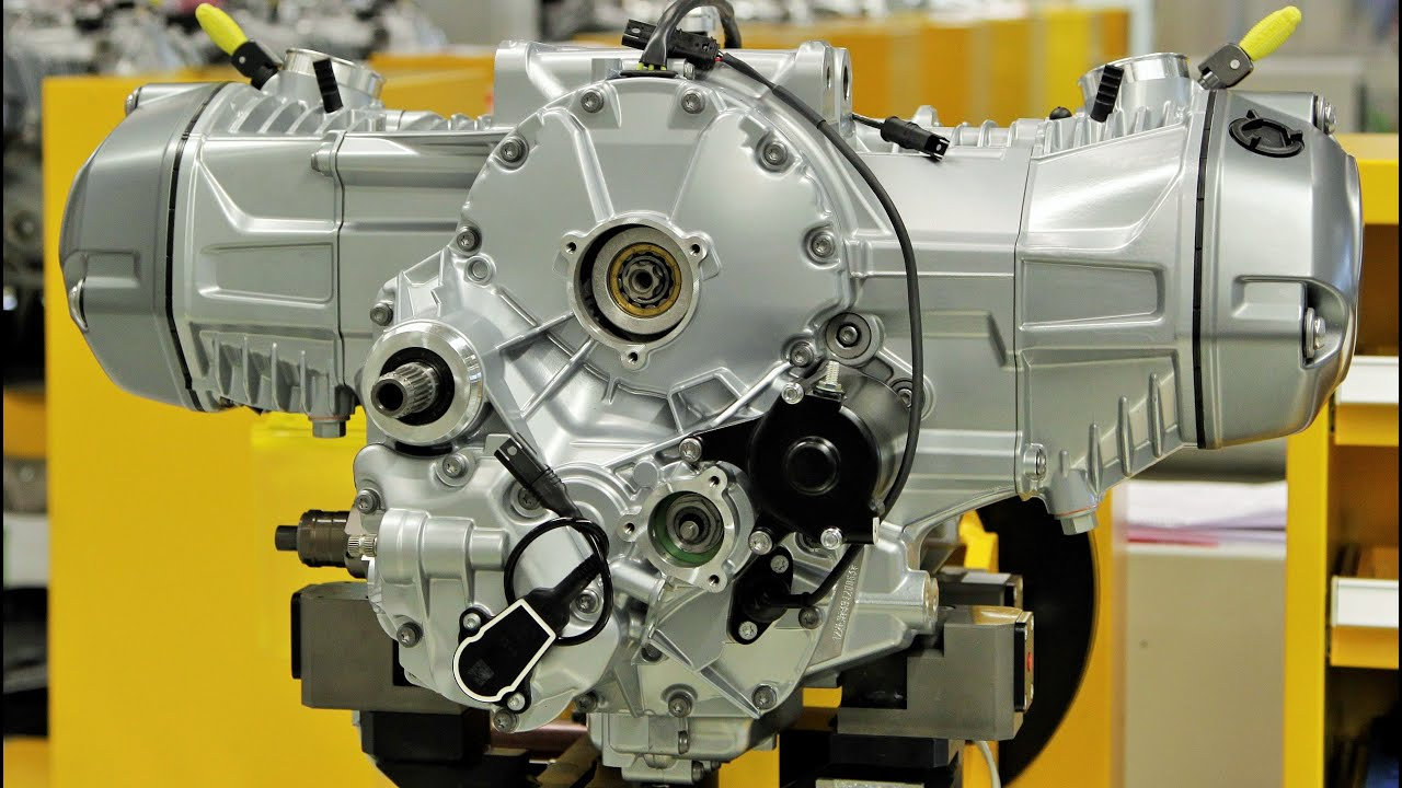 hight resolution of bmw r 1200 gs boxer engine production