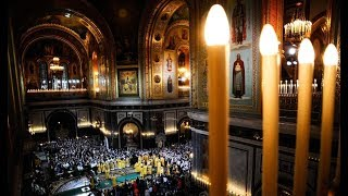 Рождество Христово. Богослужение в Храме Христа Спасителя. Полное видео