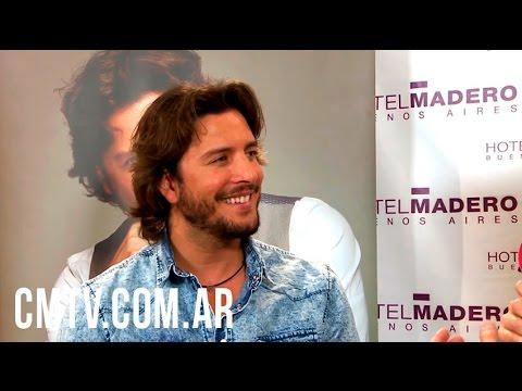 Manuel Carrasco (Entrevista) - Visita Argentina 2016