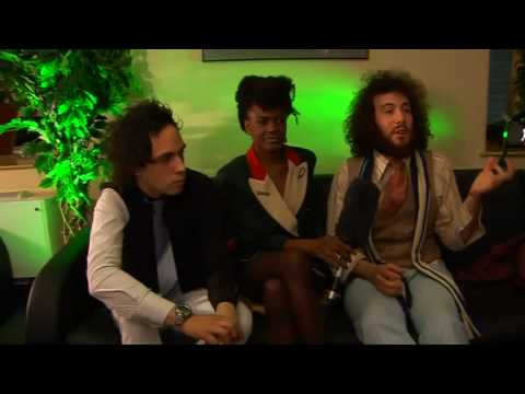 Noisettes say 'Don't Upset The Rhythm' for chart success