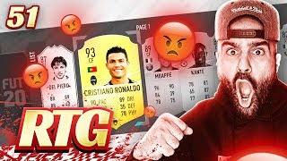 RIP RONALDO! RAGE SELLING MY TEAM? FIFA 20 Ultimate Team #51