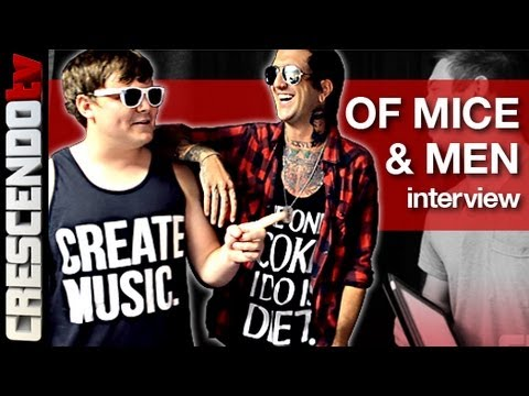 OF MICE & MEN interview #2 | Austin & Aaron | Writing the NEW RECORD | Trapped in a Port-O-Potty