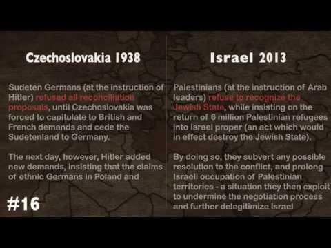Israel 2013 - Czechoslovakia 1938?